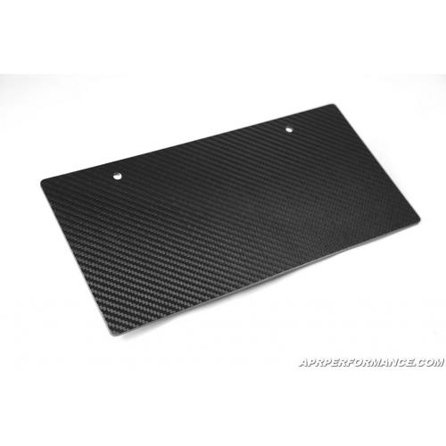 APR Carbon Fiber Lincense Plate Double Sided Universal